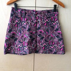 Zara print shorts sz S